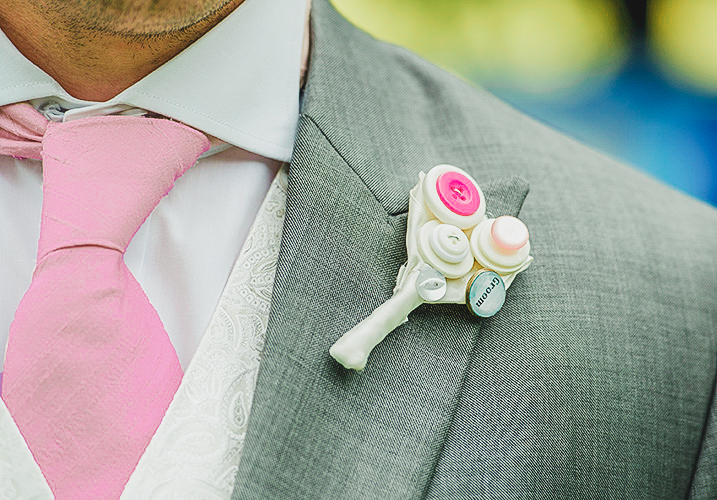 grooms pocket flower