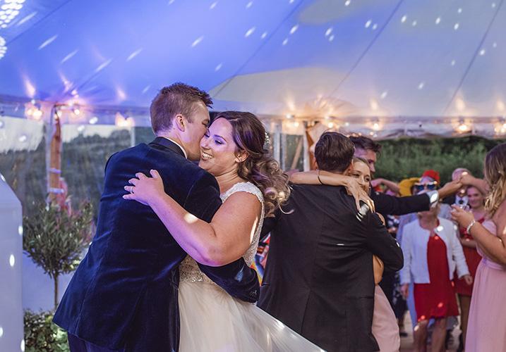 Wedding party reception