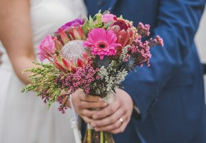 Hand tied flowers