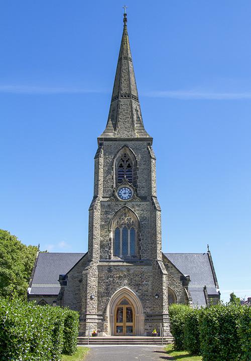 St Lukes church in Crosby