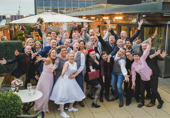 group wedding photo