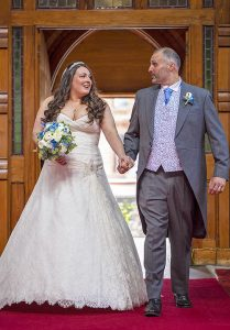 Mr & Mrs Heskey